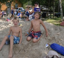 Knotty Pines Resort - Boulder Lake Beach - Nevis, Minnesota