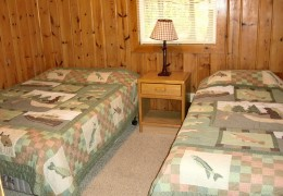 Cabin #2 - Bedroom