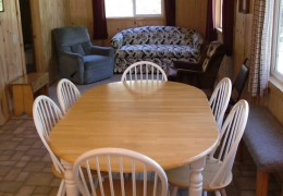Cabin #2 Dining Area