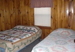 Cabin #3 - Bedroom