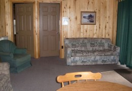Cabin #3 Living Room