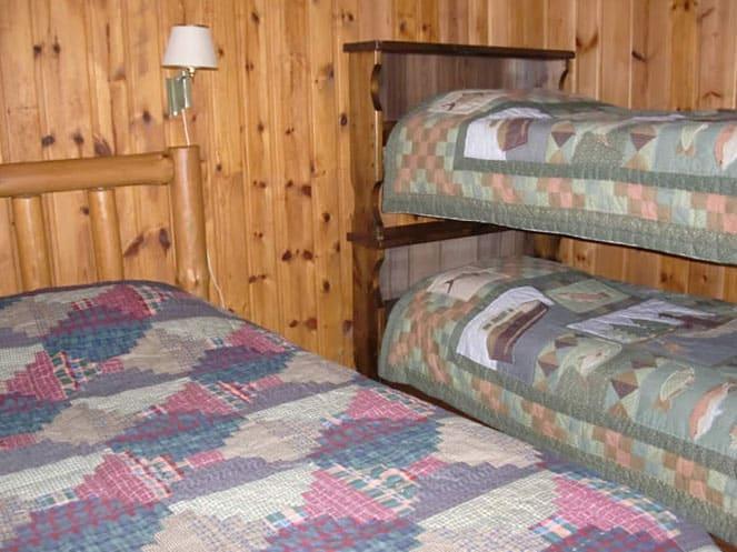 Cabin 6 bedroom 1 for 6 bedroom cabins