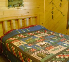 Cabin #7 - Bedroom 1