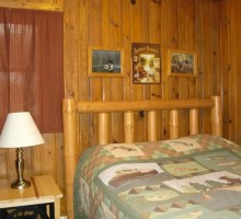 Cabin #8 - Bedroom 1