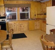 Cabin #8 Kitchen