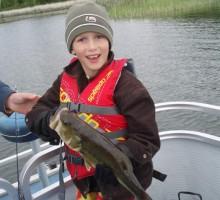 Fishing on Boulder Lake - Nevis, Minnesota