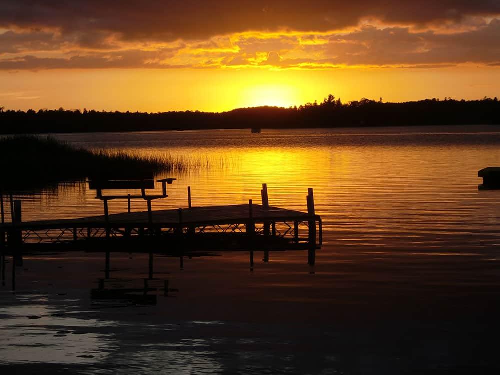 Park Rapids Resorts Knotty Pines Resort Nevis Minnesota