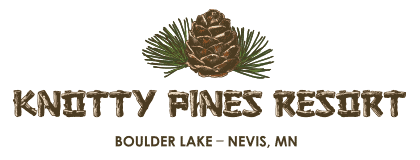 Knotty Pines Resort - Boulder Lake - Nevis, Minnesota - Near Park Rapids, MN